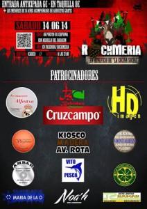 """El cartel de """"Rockmería Festival 2014"""" ya está en la calle"""