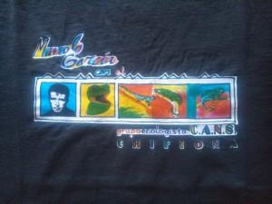 CANS lanza dos modelos de camisetas con el antiguo logo de Juan Ignacio Sardi y el diseño cedido por el cantante Manolo García
