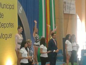 Cuatro jóvenes gimnastas chipioneras clasificadas para el campeonato de España de gimnasia rítmica