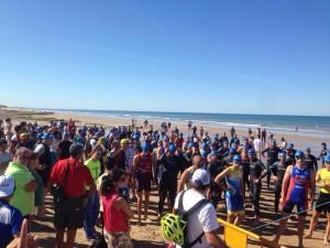 """El """"III Triatlón Cros """"Playas de Chipiona"""" contó con la participación de 110 deportistas"""