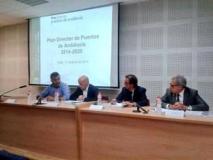 La unión CAND-Escuela Municipal de Vela ejemplo en la presentación del Plan Director de Puertos de Andalucía
