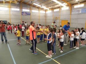 El programa Jugando al Atletismo cierra el curso en Chipiona con 750 niños participantes