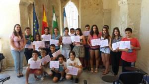 Clausuradas las actividades de los premios a la constancia y el esfuerzo en los estudios de inglés