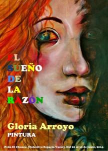 El chusco acoge desde mañana viernes la exposición de pinturas de técnicas mixtas de Gloria Arroyo