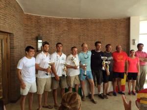 Los regatistas del CAND se hacen con casi la totalidad de premios en la última Copa de Andalucía de Catamarán