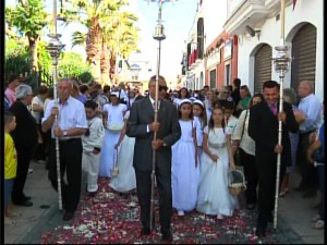 Hermandades y entidades ciudadanas colocarán cinco altares el domingo en el recorrido del Corpus Christi