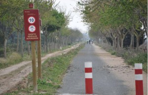 El Ayuntamiento de Chipiona anuncia duras sanciones para los vehículos a motor que circulen por la Vía Verde