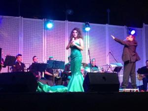 Rocío Jurado presente en la voz de Laura Gallego.-