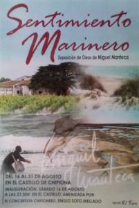 Miguel Manteca inaugura el sábado su exposición Sentimiento Marinero en la que muestra su nueva colección de óleos