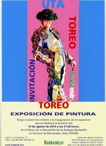 La pintora Uta Geub expondrá sus últimos trabajos en el Museo de la Manzanilla.-