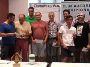 Finaliza con éxito de participación y organización la trigésimo séptima edición del Open Chipiona de Ajedrez.