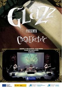 La banda Glazz ofrece mañana el espectáculo Cirquelectric incluido en el programa Decoc
