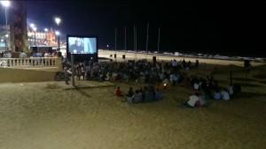 Chipiona recupera el cine de verano en la playa