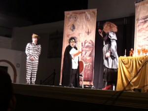 "La obra de teatro ""La Criada Amorosa"" llenó ayer el Patio San Luís"