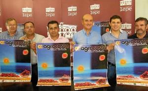 Agricultura participa en la feria Agrocosta donde invita a participar en la muestra prevista para noviembre