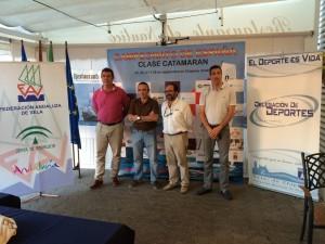 Chipiona comienza un gran septiembre náutico con el  Campeonato de Andalucía de  Catamarán