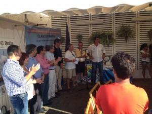 Chipiona y sus regatistas pasan con nota la prueba del Campeonato de España de Catamarán