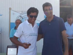 Santi Nieto se proclamó campeón de clase A e Interseries del Campeonato de Andalucía de Catamarán celebrado en Chipiona.