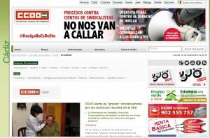 Comisiones Obreras denuncia que la nueva empresa de ayuda a domicilio de Chipiona ya adeuda la primera nómina