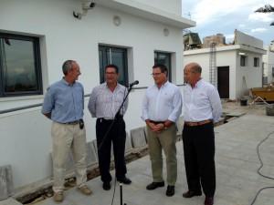 Ayuntamiento y Diputación ultiman los trabajos de ampliación y mejora en el cuartel de la Guardia Civil