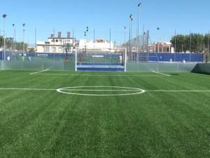 El Gutiérrez Amérigo y el campo de fútbol indoor reciben el mantenimiento integral periódico