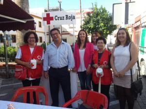 Cruz Roja ha celebrado hoy el Día de la Banderita reclamando el apoyo a la infancia