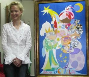Una obra de la artista alemana Uta Geub anunciará el Carnaval 2015
