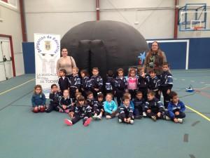 Davinia Valdés anuncia que el planetario móvil de la Obra Social La Caixa mostrará el universo a cientos de escolares