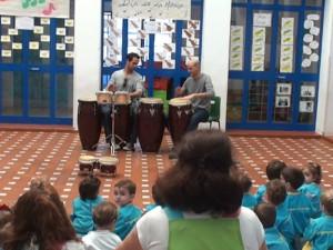 El Centro Infantil Pepita Pérez celebra el Día de la Música que se conmemora cada 22 de noviembre en honor a Santa Cecilia.