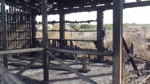 Un menor de catorce años reconoce ser el autor del incendio que destruyó un avistadero de aves junto al Centro El Camaleón
