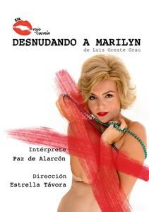 Paz de Alarcón se convierte en Marilyn Monroe en su nuevo espectáculo Desnudando a Marilyn, de estreno el 9 y 10 de enero en el Teatro Quintero de Sevilla
