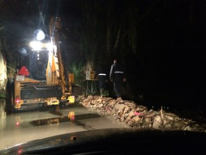 El temporal dejó graves inundaciones y daños importantes daños en amplias zonas rurales de Chipiona