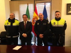 La plantilla de la Policía Local de Chipiona se incrementa con dos nuevos policías en comisión de servicio