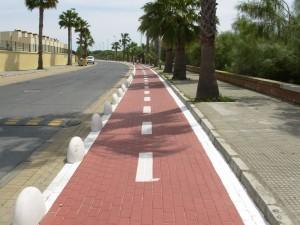 Izquierda Unida de Chipiona apuesta por la creación de un carril bici de casi 4 Km que conectará las Tres Piedras  con el carril bici de la Vía Verde.
