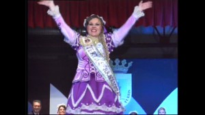 Lola Valdés Martínez elegida Perla del Carnaval de Chipiona 2015