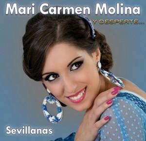 """La artista algecireña Mari Carmen Molina, triunfadora en varios programas televisivos de gran audiencia, ha editado un nuevo trabajo discográfico titulado """"Y desperté""""."""