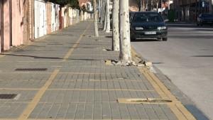 La rehabilitación de acerado de La Laguna incluido en el Plan Provincial de Obras y Servicios 2015