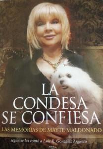 Mayte Maldonado, amiga del General Torrijos, de Alfonso de Hohenlohe, superó un cáncer y ahora pone su rico patrimonio al servicio de Dios