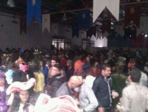 Casi 500 personas participaron en la Gran Piñata de Carnaval recuperada por la GRUCA