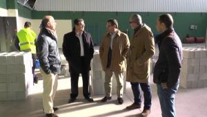 Los vicepresidentes de Diputación Villar y Liaño inspeccionan en Chipiona obras en el vivero de empresas y el cuartel de la Guardia Civil
