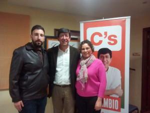 """Ciudadanos Chipiona afirma que Lucía Victoria Benítez  y Alberto Pérez  """"sumarán en beneficio de una gestión ciudadana"""""""
