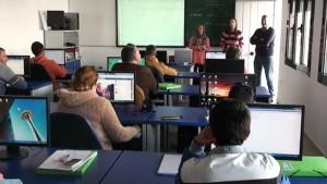 15 desempleados comienzan un nuevo curso de iniciación a la informática promovido por Fomento Económico
