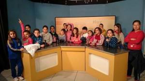 Escolares de Chipiona participan en la radio municipal dentro de un programa ofertado por la Delegación de Educación