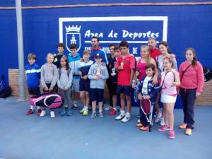 27 jóvenes tenistas participaron en la Liguilla alevín/infantil y cadete