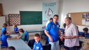 El Club Ajedrez Caepionis clausura un curso de su escuela municipal en el que se ha afianzado la implantación de este deporte