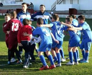 El Benjamín A del Chipiona Club de Fútbol supera la primera eliminatoria y jugará la segunda por el ascenso