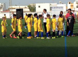 La Escuela Municipal de Fútbol Paco Matés clausura su temporada 2014-2015