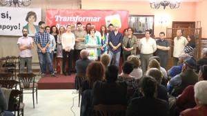 Isabel María Fernández presenta un gobierno participativo como eje central del proyecto de Izquierda Unida para las municipales