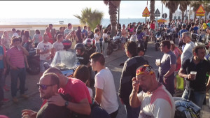 El fin de semana motero deja un buen balance para la hostelería y el turismo de Chipiona y pocos incidentes