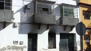 Sofocados dos incendios en una furgoneta y una vivienda cuyo titular es una persona de nacionalidad marroquí